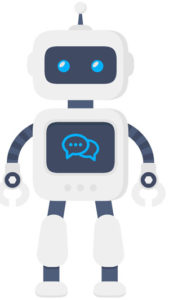 Automated Testing Page Object Model (robot icon)